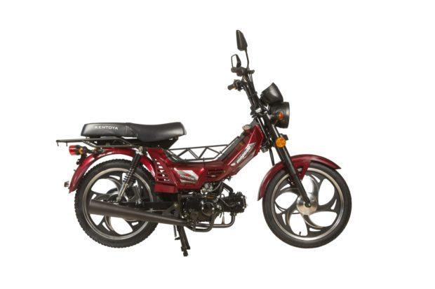 Mopedo červená